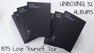 [UNBOXING] BTS (Bangtan Boys) 방탄소년단 Love Yourself 'Tear' Y.O.U.R. + 28 more albums!