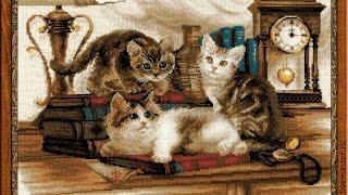 Отчет 2. Пушистые друзья от Риолис и Спящий котенок от Дименшенс