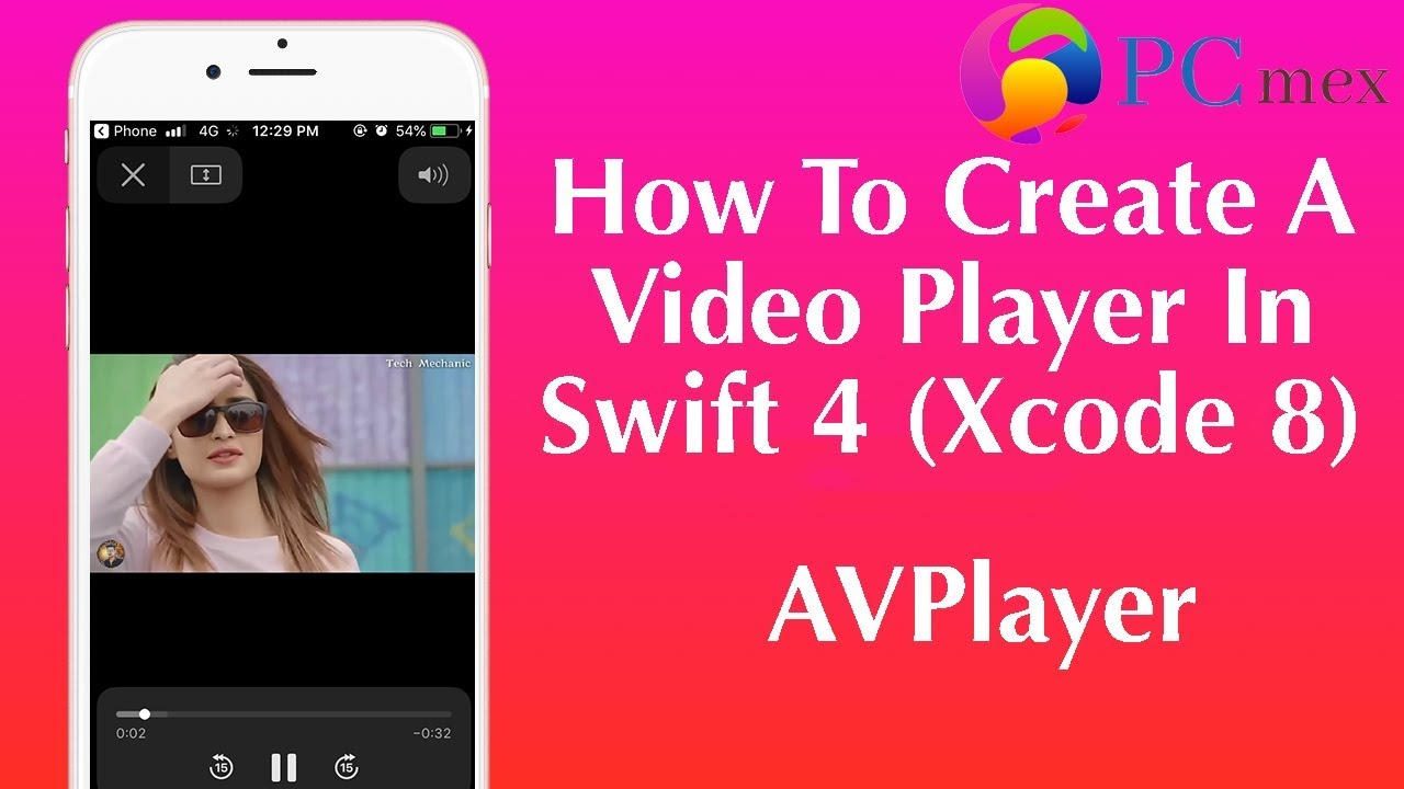 How To Create A Video Player In Swift 4 (Xcode 8) || AVPlayer in ios