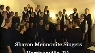 Union Church of South Foxboro: Sharon Mennonite Singers Concert - April 11, 2013