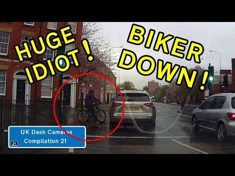UK Dash Cameras - Compilation 21 - 2018 Bad Drivers, Crashes + Close Calls