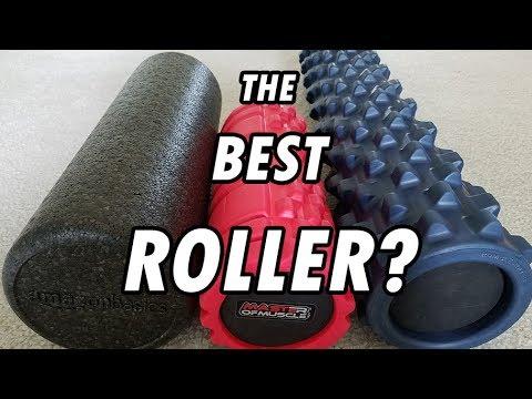 Best Foam Roller Rumble Roller VS Muscle Mauler