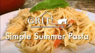 Simple Summer Pasta Recipe
