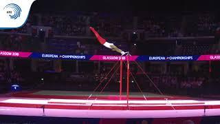 Donell OSBOURNE (GBR) - 2018 Artistic Gymnastics Europeans, junior high bar final