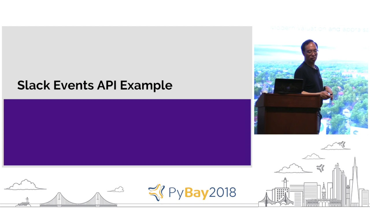 Image from The bots are coming! Writing chatbots with Python | Wesley Chun @ PyBay 2018