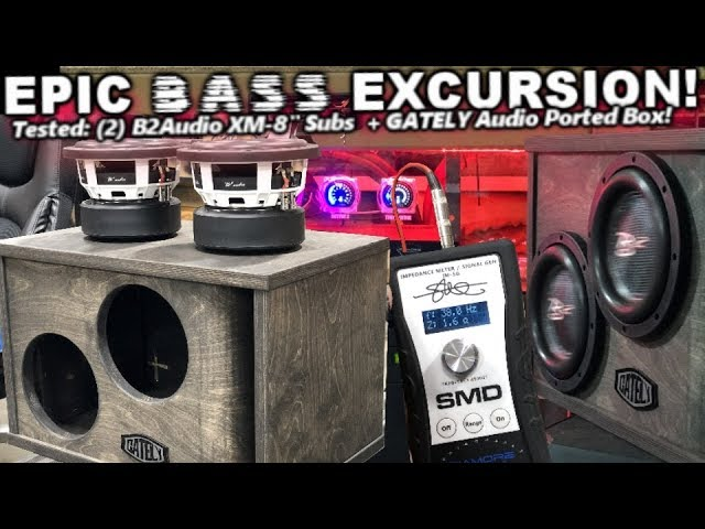 epic-8-bass-excursion-2-b2-audio-xm8-gately-audio-ported-box-russian-baltic-birch