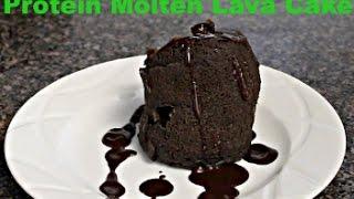 Protein Chocolate Lava Mug Cake!!!