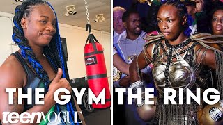 Pro Boxer Claressa Shields' Daily Routine and Boxing Style | Teen Vogue