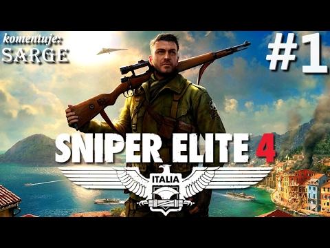 Zagrajmy w Sniper Elite 4 [PS4 Pro] odc. 1 - Snajper we Włoszech