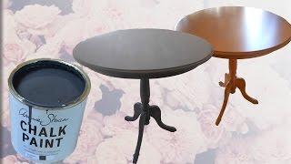 Baixar Transforming my coffee table w/ Annie Sloan Chalk Paint (Graphite & Dark wax)