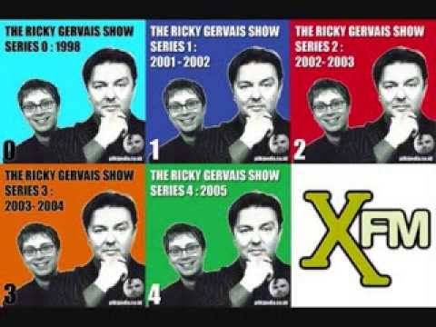 Ricky Gervais  XFM  Richard 'Dickie' Anderson Compilation