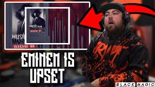 RAPPER REACTS to Eminem - Black Magic ft. Skylar Grey
