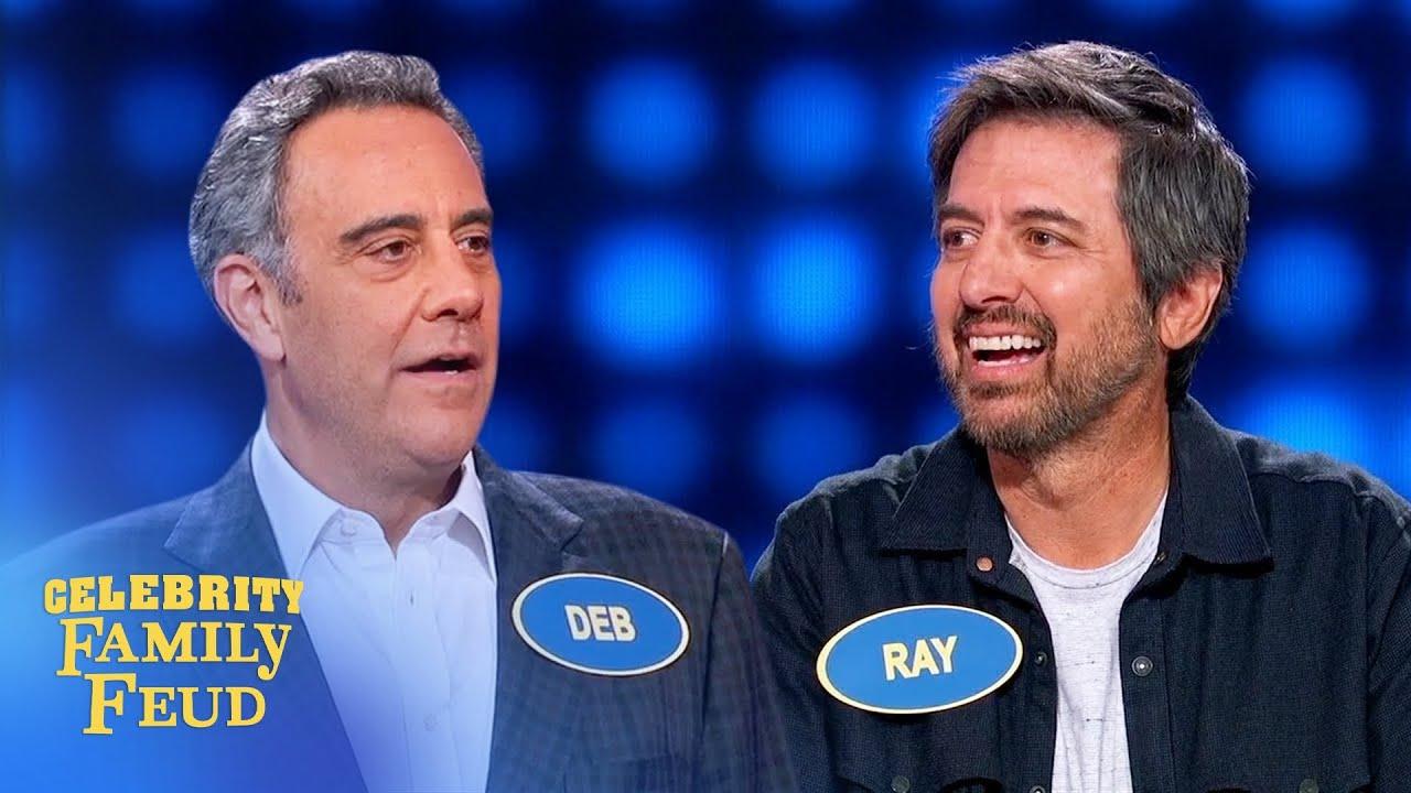 Download Ray Romano destroys Brad Garrett! | Celebrity Family Feud