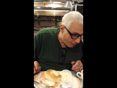 Ed Enjoys Smoked Salmon Sandwich In Brooklyn Diner With Mother
