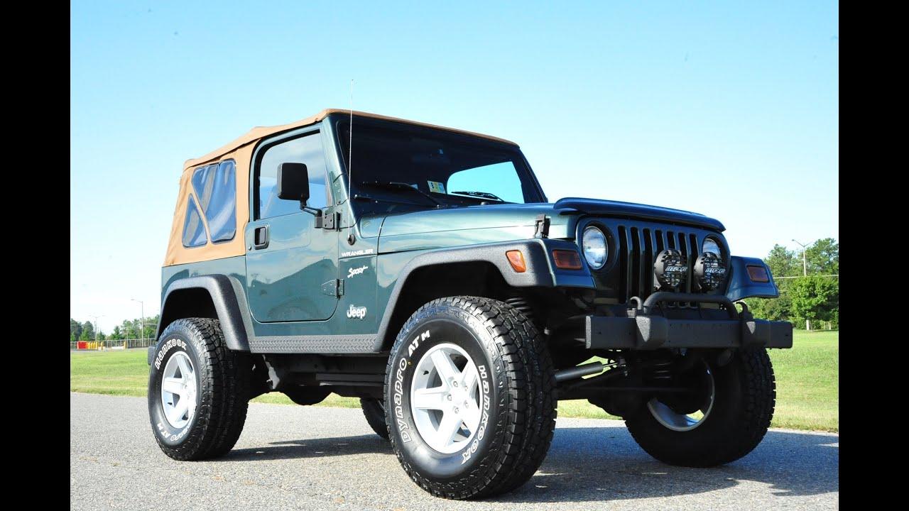 davis autosports 2002 jeep wrangler sport 75k lifted. Black Bedroom Furniture Sets. Home Design Ideas