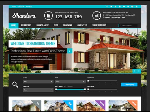 Build A Real Estate Website With Wordpress - YouTube