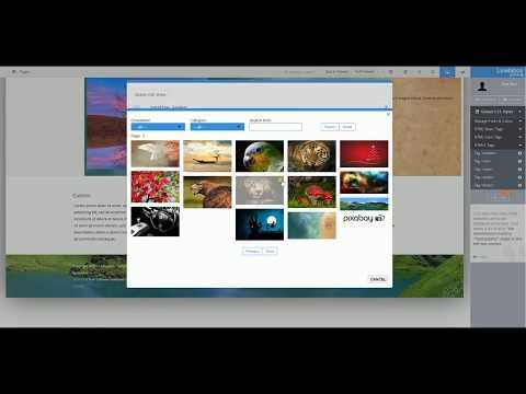 Custom Background Image + Parallax For Joomla! Template