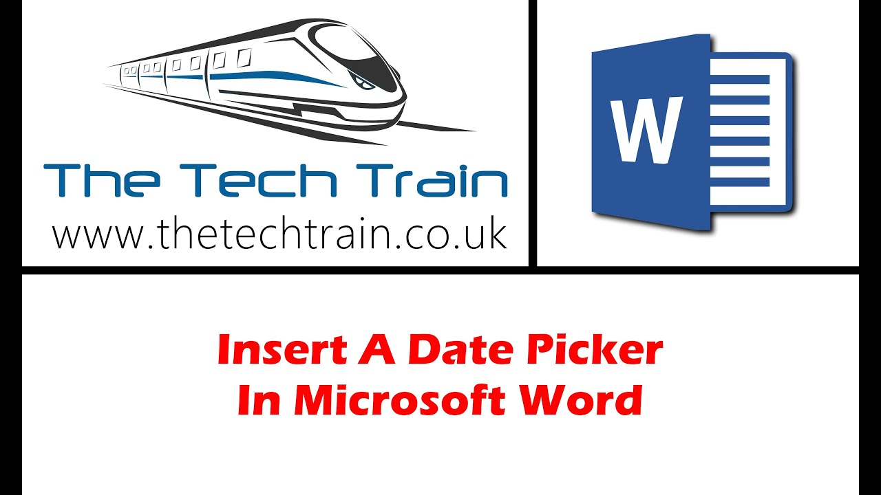 Insert current date in word