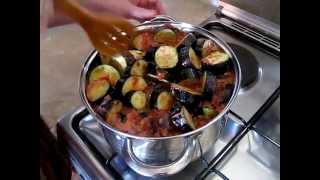 Баклажаны в аджике/Eggplants in Adjika