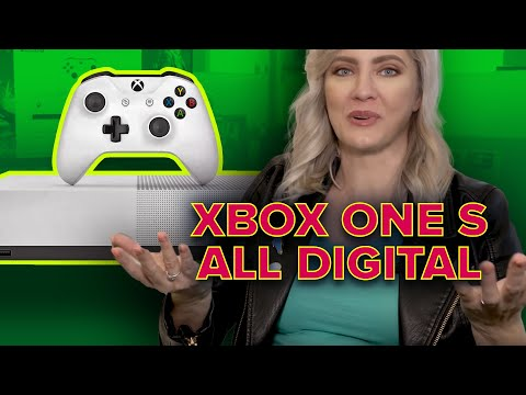 Xbox One S goes All-Digital