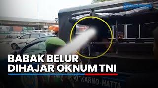 Seorang Pria Babak Belur Dihajar hingga Ditodong Senjata Anggota TNI, Begini Kejadiannya