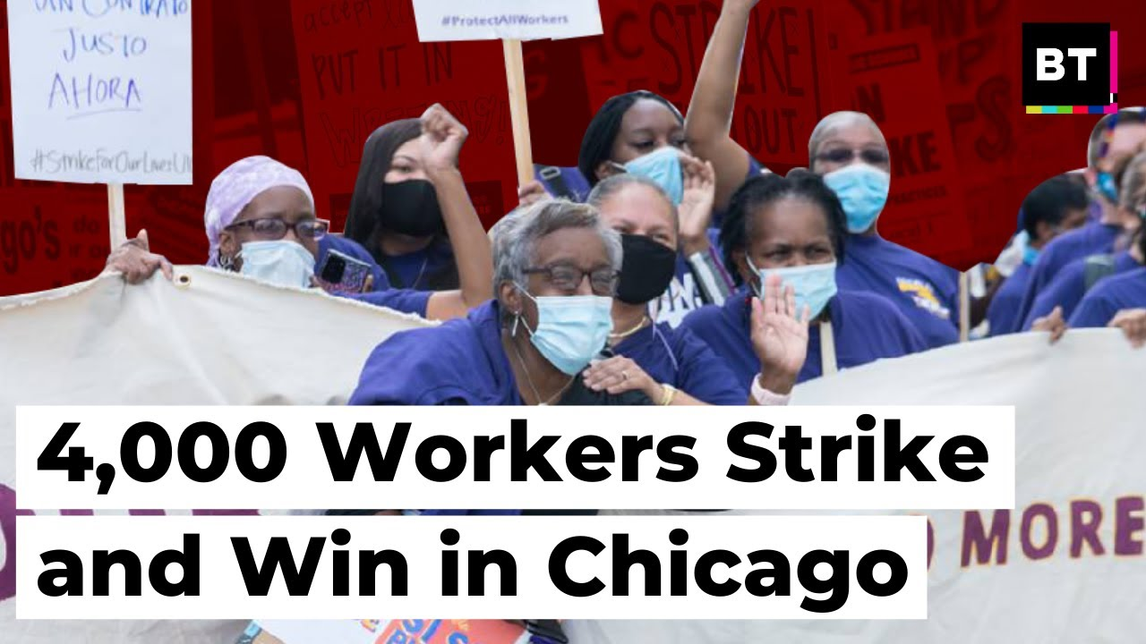 4,000 Workers Strike and Win in Chicago