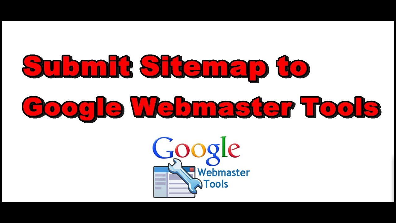 how to submit sitemap to google webmaster tools youtube