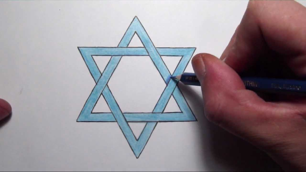 How to draw the star of david step by step youtube biocorpaavc Choice Image