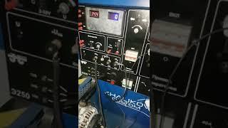 Работа под нагрузкой генератора #Bosch200