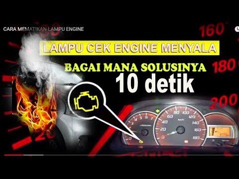 Cara gampang memperbaiki lampu engine nyala cuma 10 detik