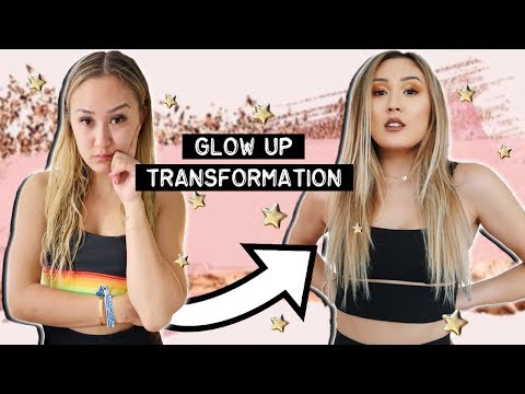 GLOW UP TRANSFORMATION w/ Adelaine Morin