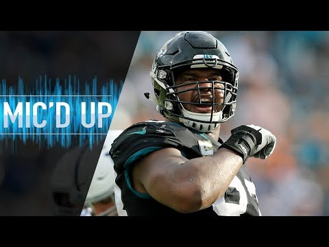 "Calais Campbell Mic'd Up vs. Colts ""We them handsome Duval boys!"" | NFL Films"