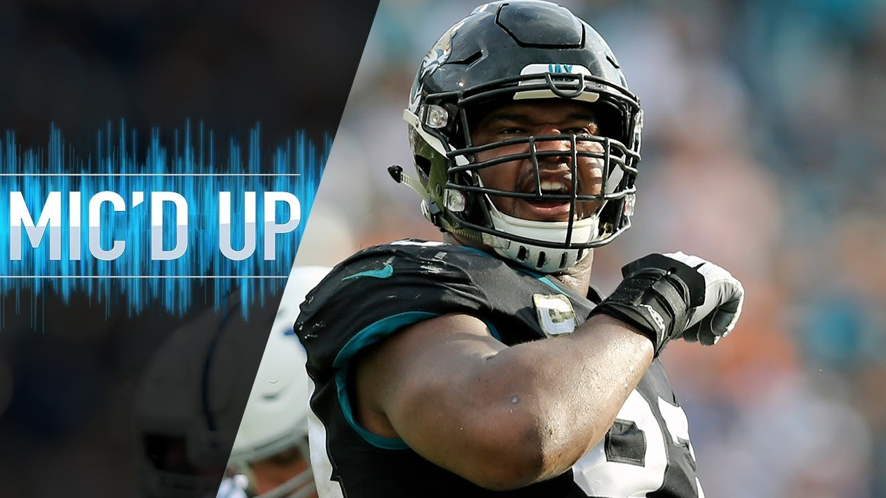 "Calais Campbell Mic'd Up vs. Colts ""We them handsome Duval boys!"" 