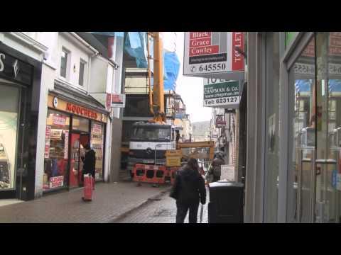 Strand Street, Douglas, Isle of Man Christmas 2012