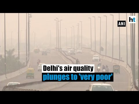 Delhi's air quality takes a hit post Diwali, plunges to 'very poor' category