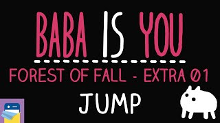 Baba Is You: Jump - Forest of Fall Level Extra 01 Walkthrough (by Arvi Teikari / Hempuli)
