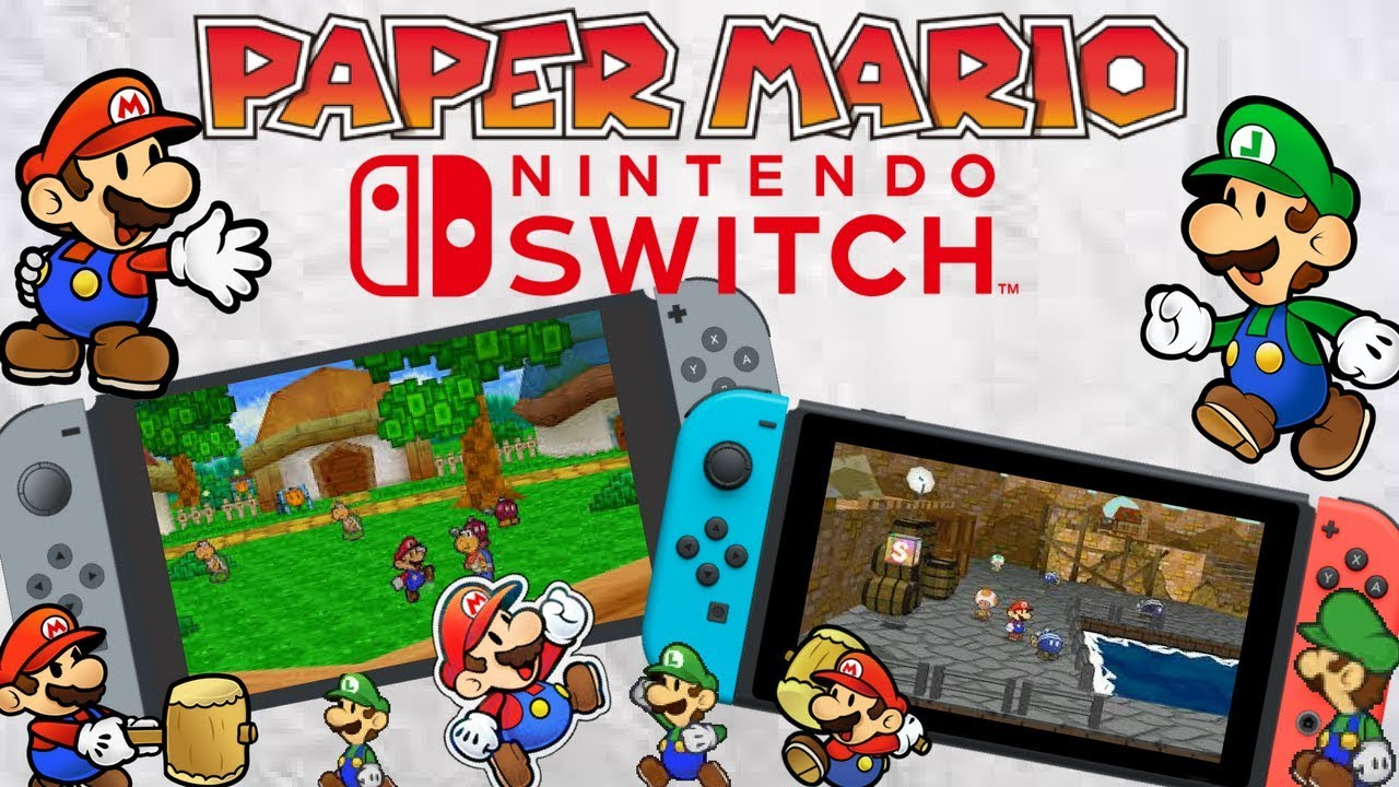 paper mario for nintendo switch is it happening discussion