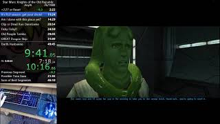 Knights of the Old Republic Any% Speedrun: 48:02 [World Record]