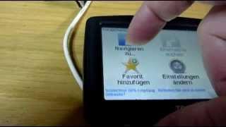POI GPS Daten in TomTom Navi importieren speichern übertragen (Point of interest)