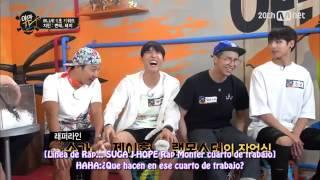 BTS Yaman TV (CUT)Rapmonster pervertido(No fake) Sub Español