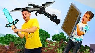Видео игры - Майнкрафт Хардкор в Эндер мире! - Летсплей в гейм шоу Кубик Нубика
