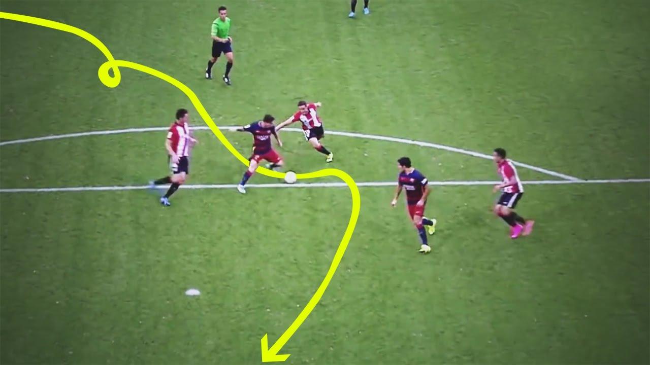 Lionel Messi : Dribble de fou - Compétences - Trucs - Buts - 2015-2016 HD