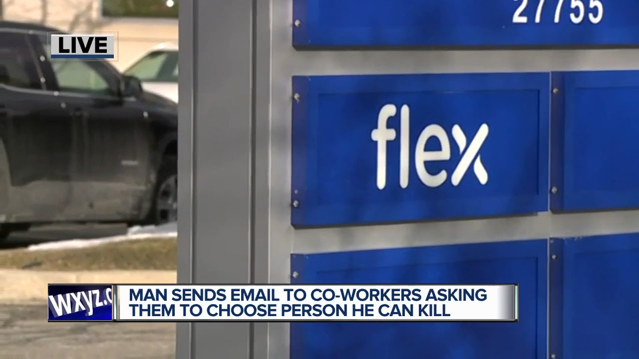 Fenton Man Accused Of Sending Email Threatening To Kill Co Workers