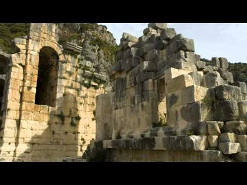 Ancient Cities of Patara and Myra, Kaş, Antalya, Turkey