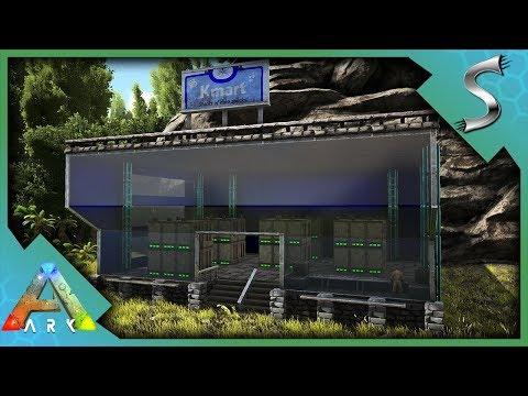 FINISHING THE KIBBLE SHOP! K-MARTS GRAND OPENING! - Ark: Survival Evolved [S4E84]