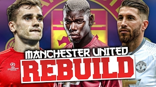 REBUILDING MANCHESTER UNITED!!! FIFA 17 Career Mode