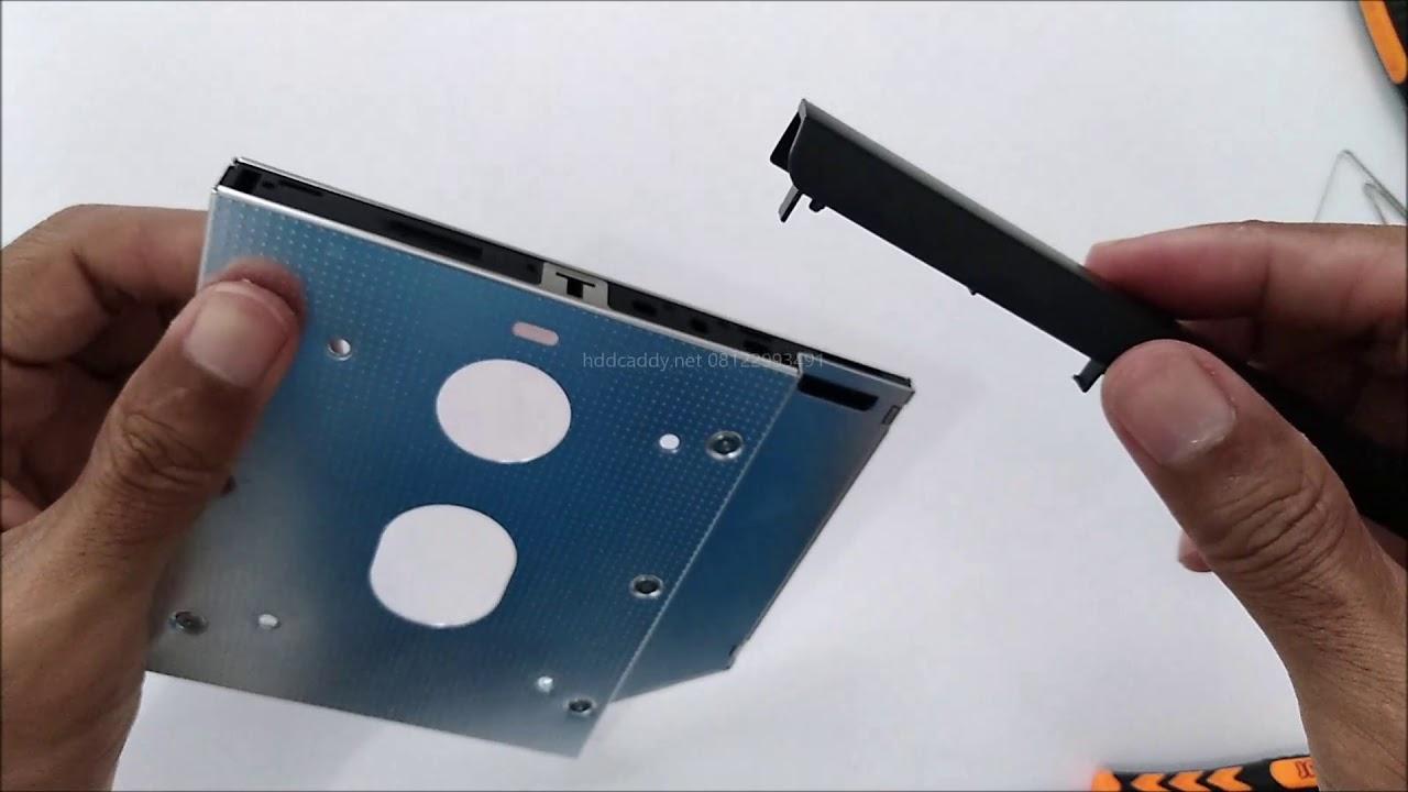 Tutorial Terbaru Cara Melepas Bezel Faceplate Dvd Rom Laptop Hp 430 Pasang Di Hdd Caddy Youtube