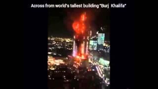 DUBAI FIRE: