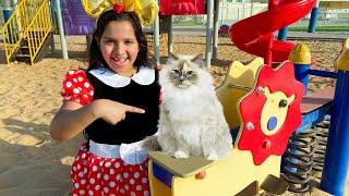 شفا ضيعت قطتها و وجدتها !!! Shfa lost her cat and found it