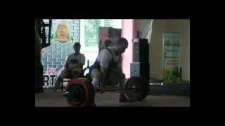 Raw deadlift 300 kg @ 75 Arkadiy Shalokha
